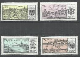 Ungarn 2646-49A, Satz Mit 4 Briefmarken Zur Ung. Briefmarkenausstellung Budapest´73, Postfrisch Mi.: 4,50 €