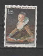 "FRANCE / 1972 / Y&T N° 1702 ** : ""Etude"" (Fragonard) - Gomme D´origine Intacte - Neufs"