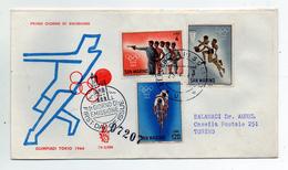 San Marino - 1964 - Busta FDC - Olimpiadi Di Tokio - (FDC1229) - Summer 1964: Tokyo