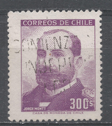 Chile 1966. Scott #354 (U) President Jorge Montt (1847-1922) - Chili