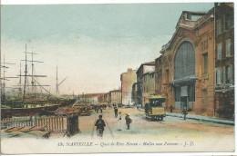 MARSEILLE - Quai De Rive-Neuve - Halles Aux Poissons - Marseilles