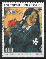 Polynésie 1984 - N° YT  PA 183, Oblitéré, Used  -  Tableau, Peinture, Peintre, Paint, Painter, Painting - Airmail