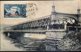 RUSSIA:1924 PPC Showing The Great Flood Of Moscow From The CRIMEAN Bridge. Franked But Not Ueed. - Russland