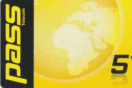 Reunion - Pass Telecom - Globe 2 - Reunion