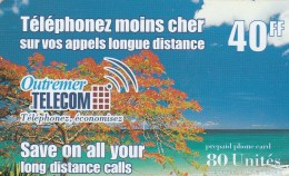 Reunion - Outremer Telecom - Beach 40FF - Reunion
