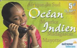 Reunion - Outremer Telecom - Ocean Indien - Girl 5 E