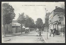 VITRY Le FRANCOIS Avenue De La Gare (Legeret) Marne (51) - Vitry-le-François