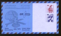 Berlin - Privatganzsache/LP-Faltbrief PF 005 B1/001  - 30 Pf. + 60 Pf. Unfallverhütung - 1976 - Ungebraucht - Berlin (West)