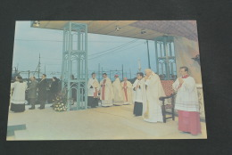 P1- Serie Filgraf- Viaggi Papali No. 70   - Viaggia Di S.S. Giovanni Paolo II-John Paul -  A Civitavecchia - Papes