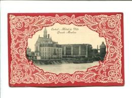 CP -  Corbeil ,(91) Hotel De Ville Grands Moulins - Corbeil Essonnes