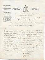 27 Germinal An 6 - GRENOBLE (38) - Vente D'une Maison CONVENTUELLE Des Cy Devant RÉCOLLETS De St MARCELIN - Documents Historiques