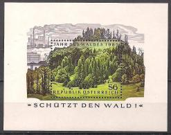Österreich  (1985)  Block  7  Postfrisch / ** / Mnh   (7bl01-10) - Blocks & Kleinbögen