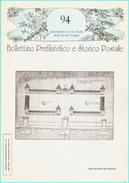 BOLLETTINO PREFILATELICO E STORICO POSTALE  - N° 94 - Filatelia E Storia Postale