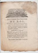 REVOLUTION  LETTRES PATENTES DU ROI  31 JANVIER 1790 PAIEMENT DES OCTROIS DROITS D'AIDES....... VOIR 2 SCANS - Décrets & Lois