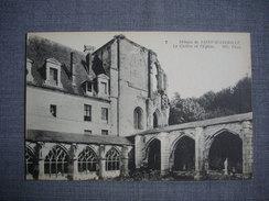 Abbaye De SAINT WANDRILLE  -  76  - Le Cloître Et L'Eglise  -  Seine Maritime - Saint-Wandrille-Rançon
