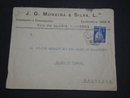 PORTUGAL - Enveloppe Commerciale De Lisbonne Pour La Belgique En 1927 - A Voir - L 4826 - 1910-... République