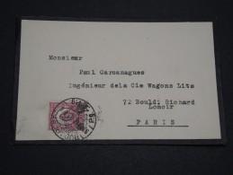 HONGRIE - Enveloppe De Budapest Pour La France , Période 1920/30 - A Voir - L 4829