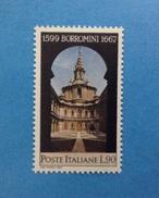 1967 ITALIA FRANCOBOLLO NUOVO STAMP NEW MNH** - FRANCESCO BORROMINI - 6. 1946-.. Repubblica