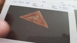 LOT 328243 TIMBRE DE CAP  OBLITERE N°1 VALEUR 275 EUROS - Non Classés