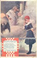 CZECH SOKOL SOCIETY GATHERING 1912 GIRL And GOD - Tchéquie