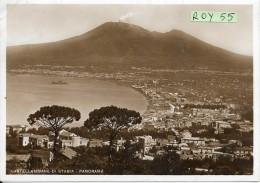 Campania-castellammare Di Stabia Veduta Panorama Castellammare Vesuvio Anni/40 (fotocelere) - Castellammare Di Stabia