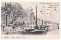 Brugge: Le Quai Des Dominicains. (attelage) - Brugge