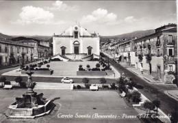 CERRETO SANNITA  /   Piazza Vittorio Emanuele _ Viaggiata - Benevento