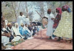 GUINÉ-BISSAU - Grupo De Muçulmanos  Carte Postale - Guinea Bissau