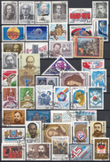 Sowjet Unie - Selectie Zegels - Gebruikt-gebraucht-used - Afgeweekt - SSU2 - Postzegels