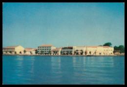 GUINÉ-BISSAU - Avenida Marginal Vista Do Rio Geba ( Ed. Central De Informação E Turismo) Carte Postale - Guinea Bissau