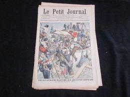 Le Petit Journal - 1906 - Naufrage Du SIRIO Près Des Cotes D'Espagne - Journaux - Quotidiens