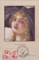 Carte-Maximum FRANCE N° Yvert 739 (LIBERATION - ALSACIENNE) Obl Sp 8.5.47 Ann.Victoire Sur Belle Carte Ancienne - 1940-49