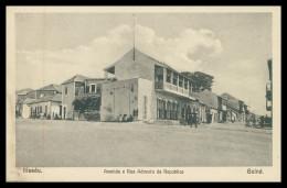 BISSAU -Avenida E Rua Advento Da Republica  Carte Postale - Guinea Bissau
