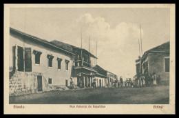 BISSAU -  Rua Advento Da Republica  Carte Postale - Guinea Bissau