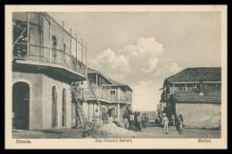 BISSAU -  Rua Honorio Barreto  Carte Postale - Guinea Bissau