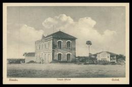 BISSAU -  Escola Oficial  Carte Postale - Guinea Bissau