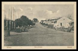 BAFATÁ - Rua Principal  Carte Postale - Guinea Bissau