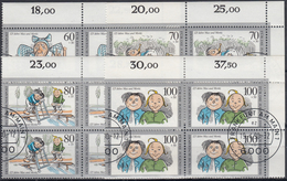 ALEMANIA FEDERAL 1990 Nº 1287/90 USADO (4 Series En Bloque) - Usados