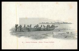 GUINÉ-BISSAU - Pirogue Ballante ( Ed. Rodez Nº 183) Carte Postale - Guinea Bissau