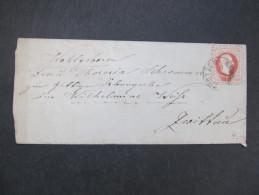 BRIEF Chotzen Chocen - Zwittau Florian Weiss  /// D*21291 - 1850-1918 Imperium