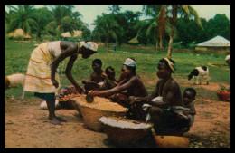 BISSAU - FEIRAS E MERCADOS - Mercado Nativo ( Ed. Foto Serra Nº 103)  Carte Postale - Guinea Bissau