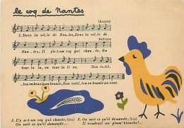 PIE-16 - 1525 :LES CHANSONS DE L ONCLE PAUL ILLUSTRATION EDMEE ARMA LE COQ DE NANTES  AUNIS