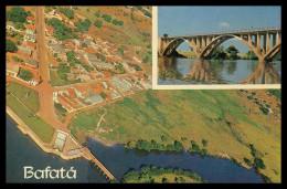 BAFATÁ - Ponte E Vista Aérea Parcial De Bafatá ( Ed. Foto Serra Nº 106)  Carte Postale - Guinea Bissau