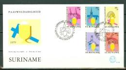 Suriname FDC 032 Paasweldadigheid 11 April 1979 - Surinam