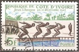 Côte D'Ivoire - 1961 - Jeux D'Abidjan - YT 201 Oblitéré