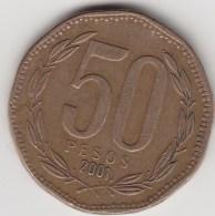 @Y@     CHILI   50 Pesos 2001 (3171) - Chili