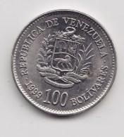 @Y@     Venezuela 100 Bolivarus  1999   (3153) - Venezuela