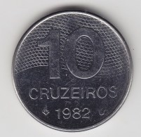 @Y@     Brazilië   10  Cruzeros  1982    (3156) - Brésil