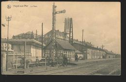 +++ CPA - HEIST - HEYST - La Gare - Statie - Nels   // - Heist