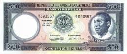 EQUATORIAL GUINEA P. 12 500 E 1975 UNC - Equatorial Guinea